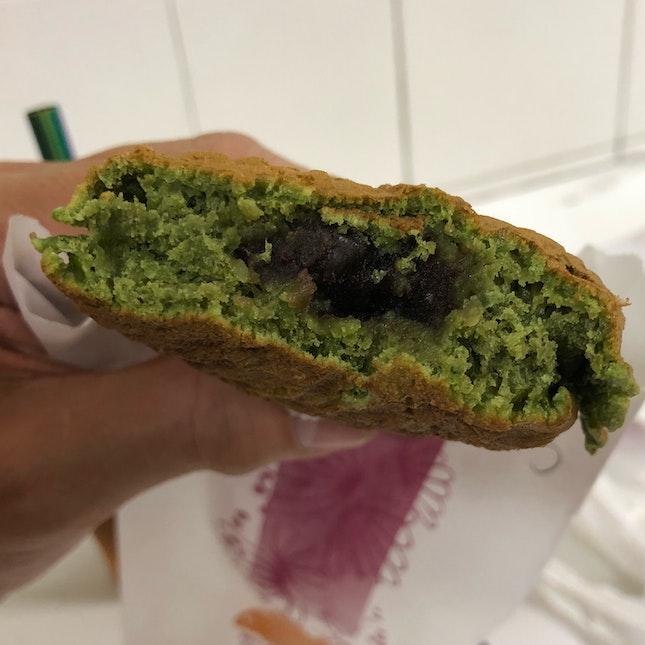 Green Tea Taiyaki ($2.10)