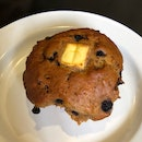 Blueberry, Cream Cheese & Cranberry Muffin - Brunch Special ($4.25)