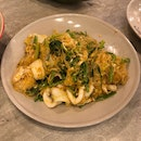 Stir Fried Thai Vermicelli With Vegetables And Seafood ($9.80)