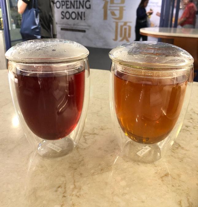 [Drink] Blissful Berries & Timeless Earl Grey ($3.20)