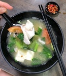 """Fresh"" Fish Slice Soup (No Milk, $5.80)"