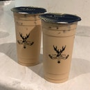 Royal No. 9 Milk Tea (Large, $4.80) & Assam Black Milk Tea (Large, $4.30)