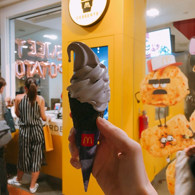 Sweet Potato Waffle Cone ($2)
