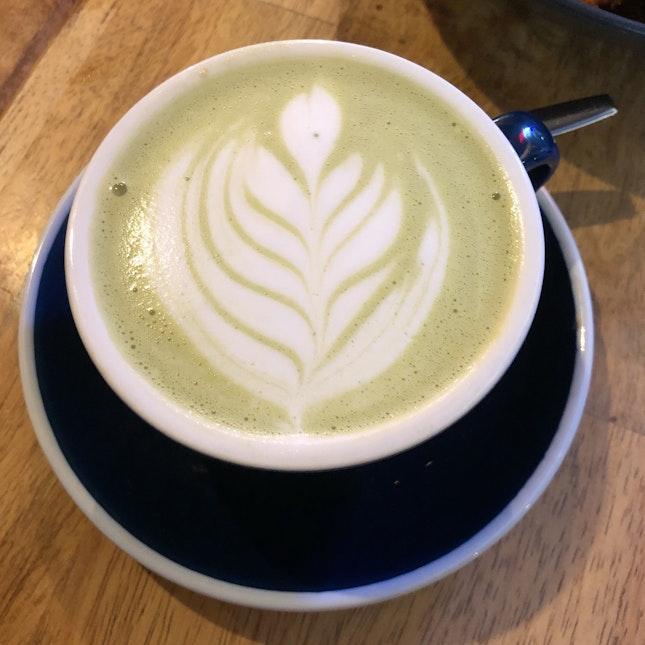 Matcha Latte (Hot, $5.90)