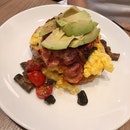 Eggs & Avocado Open Face ($16)