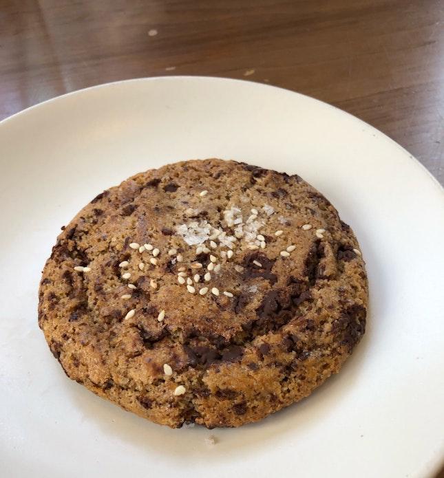 Tahini Chocolate Chip Cookies ($3.50)