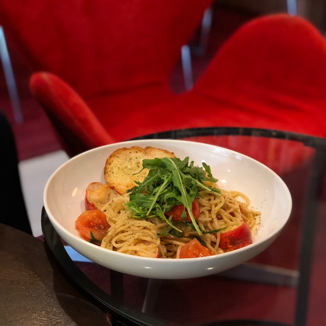 Lobster Pasta With White Wine Reduction ($28.80)