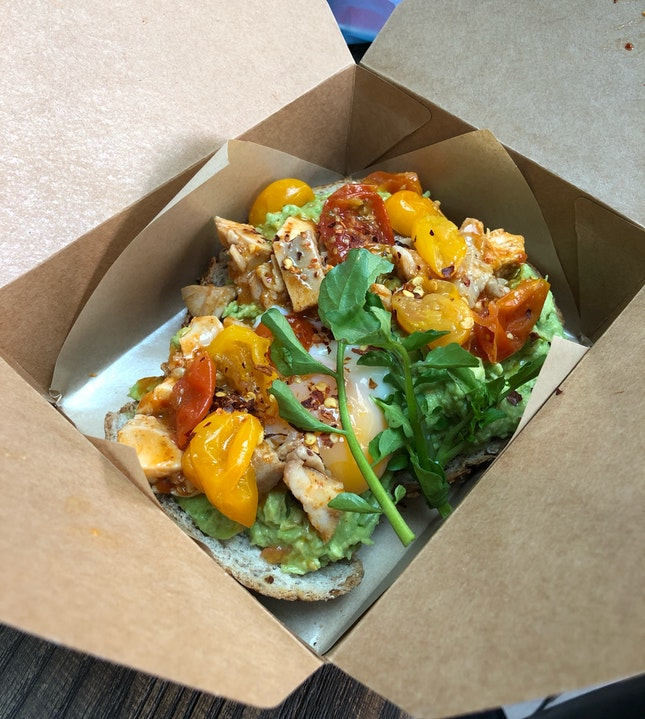 Spicy Portuguese Chicken On Sourdough