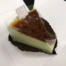 Pandan Burnt Cheesecake