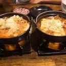 Pork Rib Stew & Spicy Chicken Stew