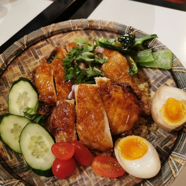 Signature Roast Chicken With Quinoa