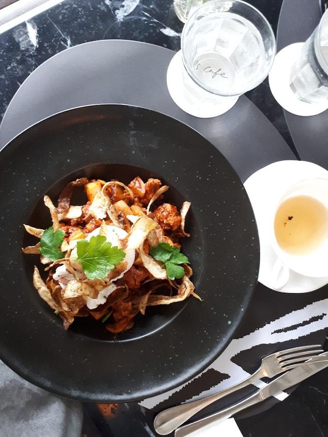 Chorizo Chilli Hash & Poached Egg
