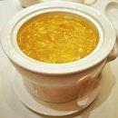 Foie Gras Chawanmushi with Crab Roe Soup || @ShisenHanten, @MandarinOrchard .