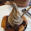 Hojicha Soft Serve ($8.50)