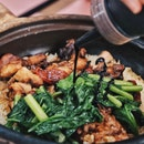 Yew Chuan Claypot rice at Golden Mile Food Centre