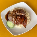 Roast Duck Rice [~$5]
