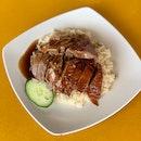 Roast Duck Rice [~$5]