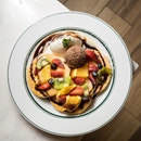 Mixed Fruits and Chocolate Pancake [~$15.90]
