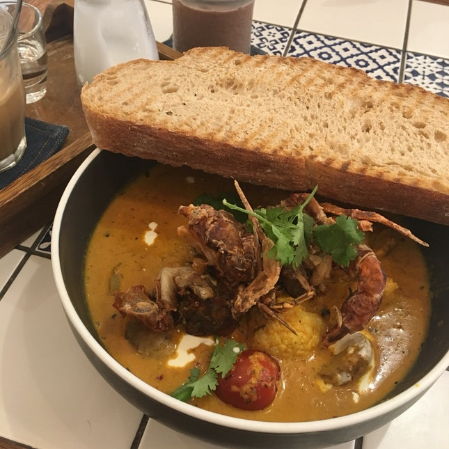 Absolutely Tantalising Soft Shell Crab Curry