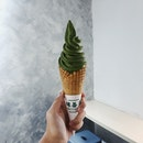 Uji Matcha Ice Cream Cone ($5.85)