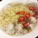 Bak Chor Mee Soup