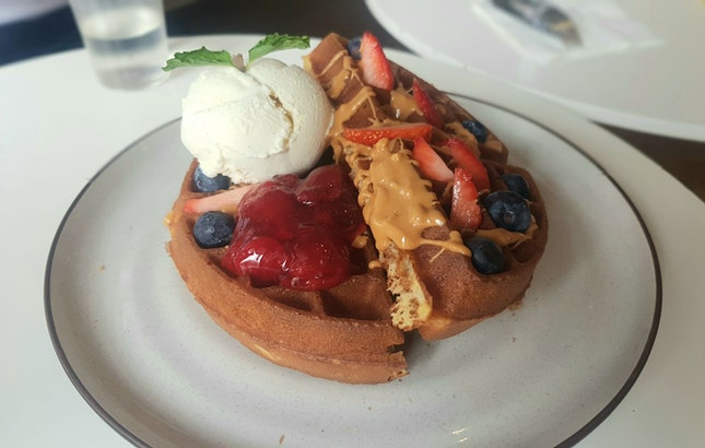 PNJ Waffles + Smores Waffles