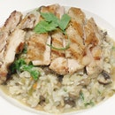 Chicken And Mushroom Risotto