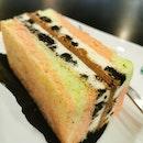 Cookies & Cream Cheesecake Sandwich