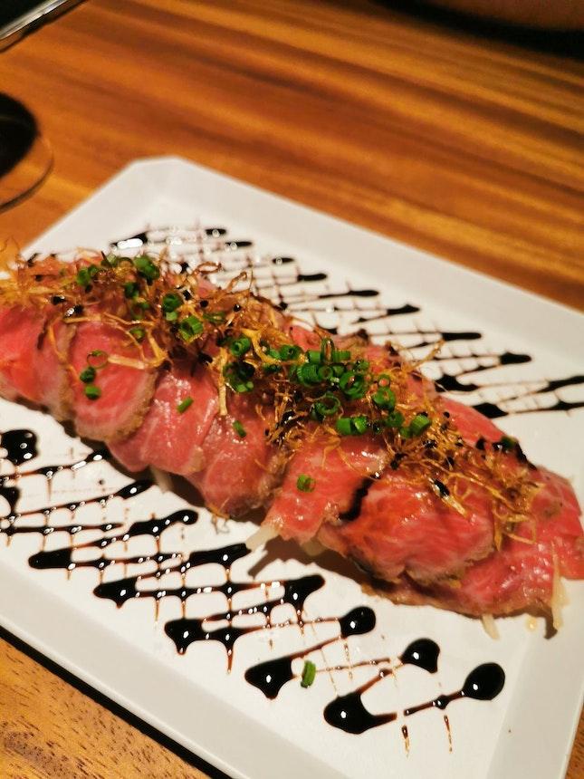 Wagyu Beef Tataki