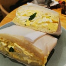 Egg Salad Fluffy Shokupan Sandwich