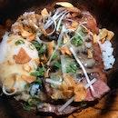 Juicy Seared Beef Donburi