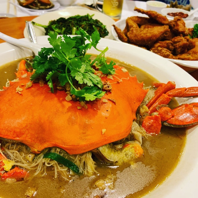 One Of The Best Crab Bee Hoon