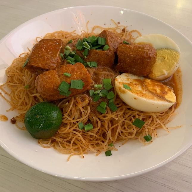 Dry Mee Siam