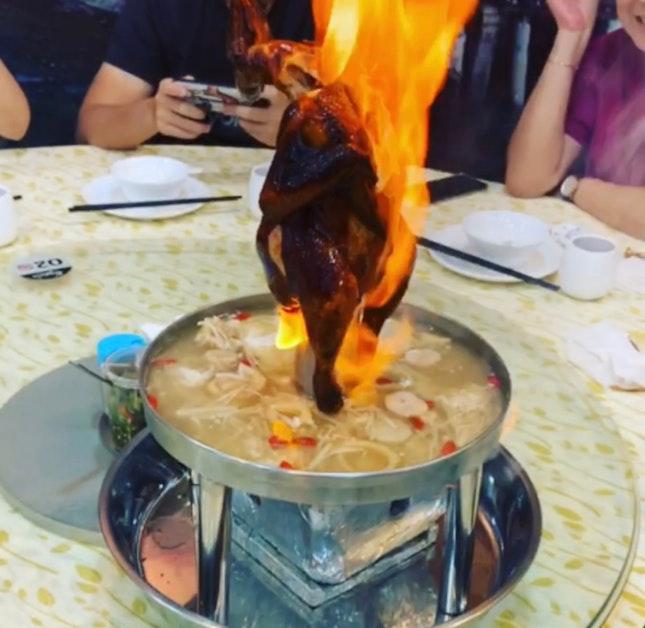 Volcano Roasted Chicken