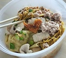 【Michelin Star Bak Chor Mee】$6 for a bowl of Bak Chor Mee which I queued for an hour plus😥 Will be back again only if I don't have to wait for that long..