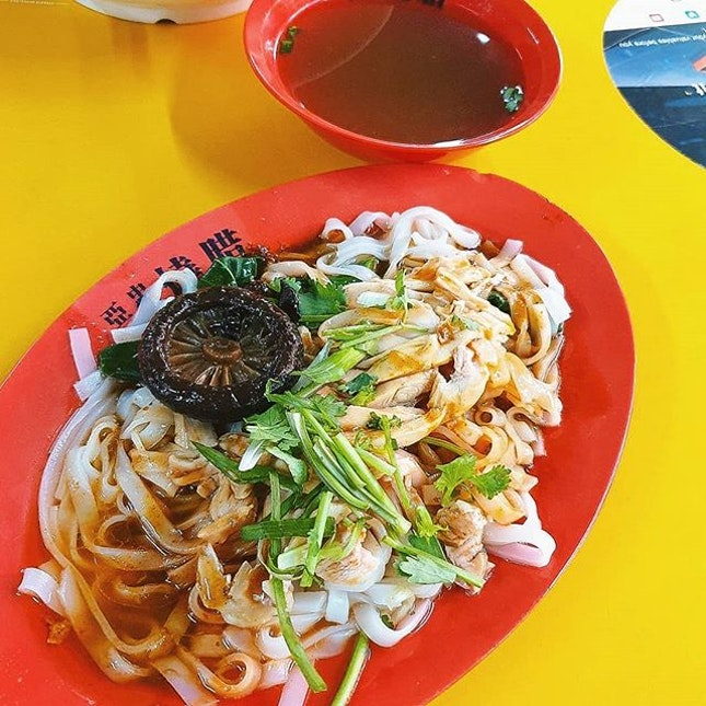 It's hard to find a good plate of Ipoh Hor Fun in Singapore, and I'm so glad to have chanced upon this store today in!