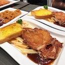 Crispy Skin Chicken Steak