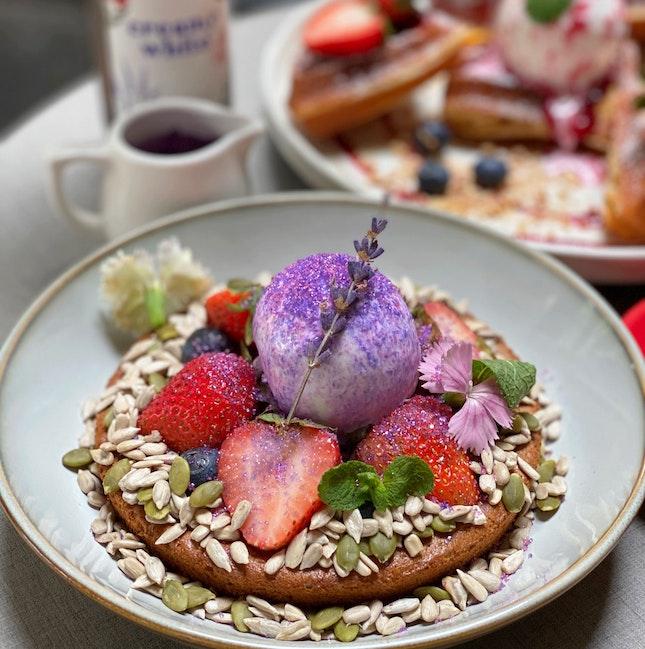 French Lavender Weekend Brunch Set