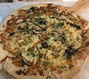 Truffle Portobello Mushroom Pizza ($24)