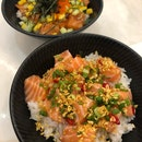 Spicy Salmon Don (small) ($16.90)