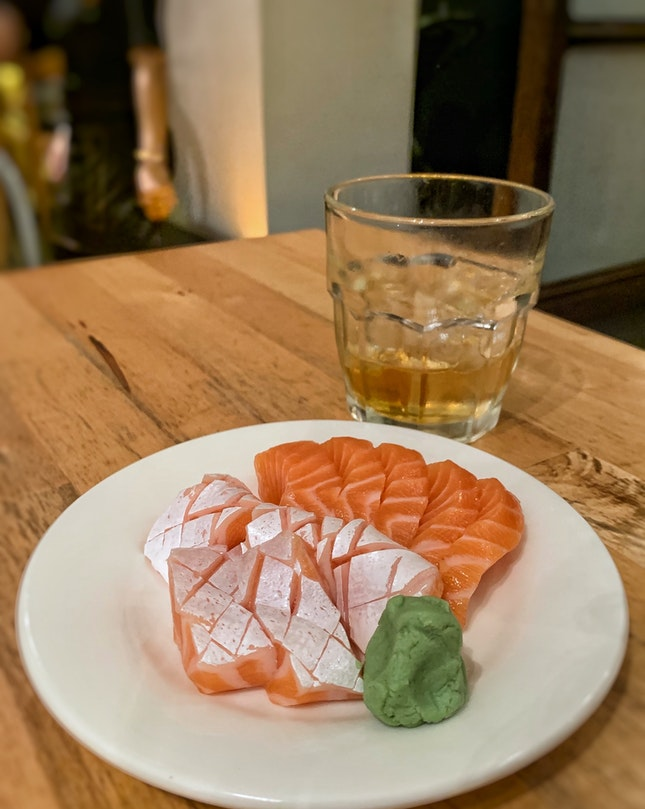 $3 for 5 Salmon Slices!