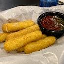 Mozzarella Sticks ($10)