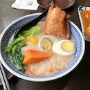 Papaya Soup Pork Chop Bee Hoon