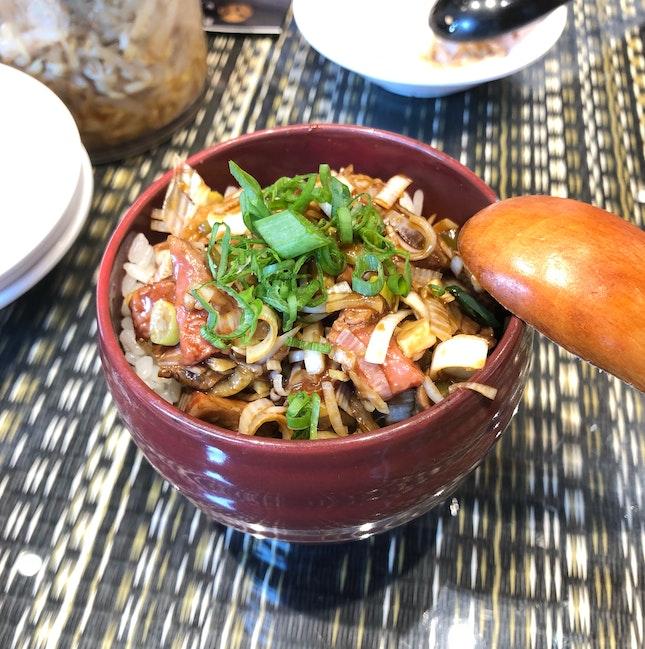 Wasabi Duck Rice