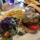 Truffle Mushroom Burger