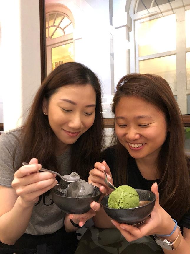 Goma Black Sesame Ice Cream