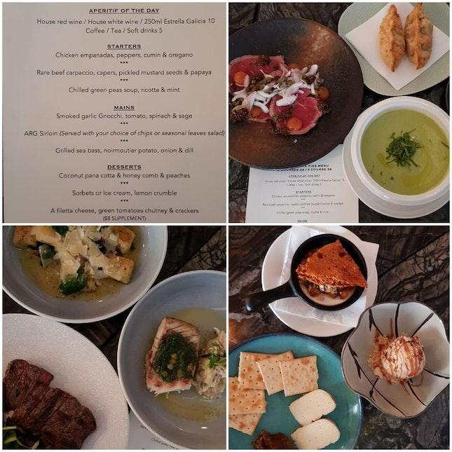 Restaurant Hopping  -- Argentina Cuisine