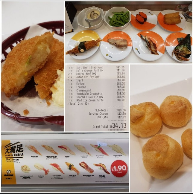 Restaurant Hopping -- Newly Opened Genki Sushi Outlet In Westgate!