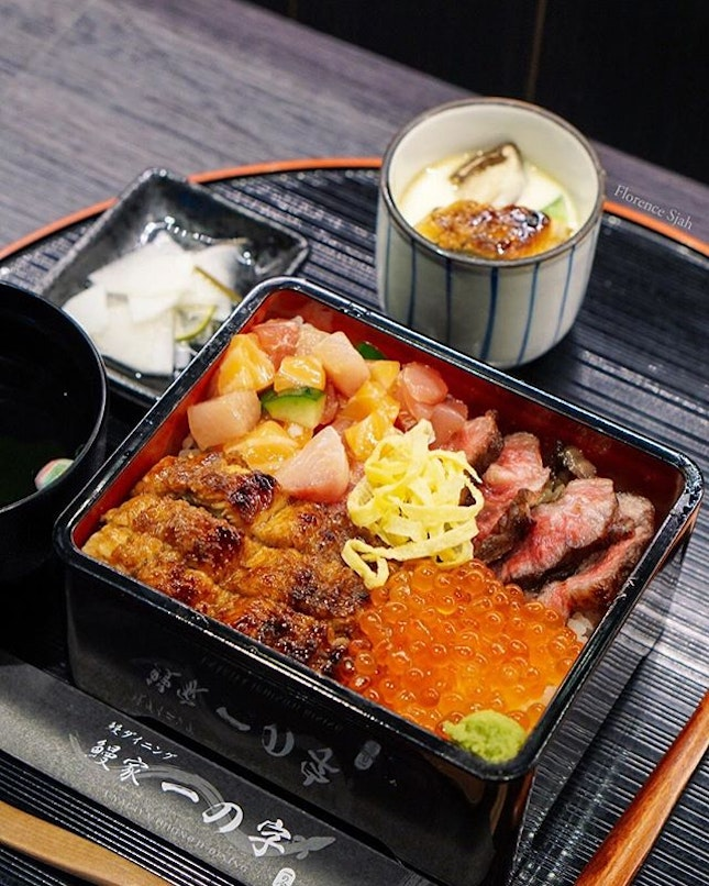 Unagiya Ichinoji is celebrating their one year anniversary by launching 2 new dishes, the Ichinoji Mixed Box and Unagi Tantan Men.🎉 These 2 will be available from 19 April-20 May 2019 at both Robertson Quay & Suntec outlets.