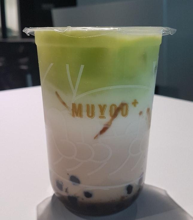 Avocado fresh milk with pearls $3.90